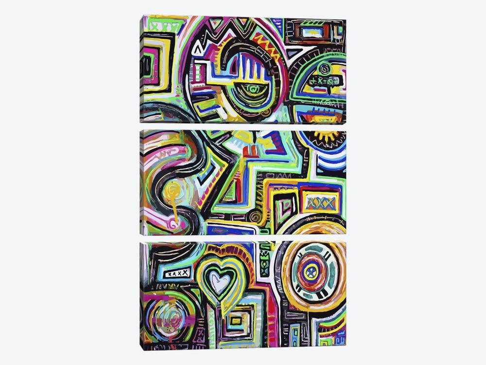 Celestial Engine by Alloyius McIlwaine 3-piece Canvas Art