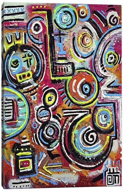 Discotheque Showboats Canvas Art Print