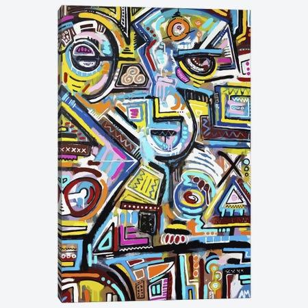 Eye of the Storm Canvas Print #ALM7} by Alloyius McIlwaine Canvas Artwork