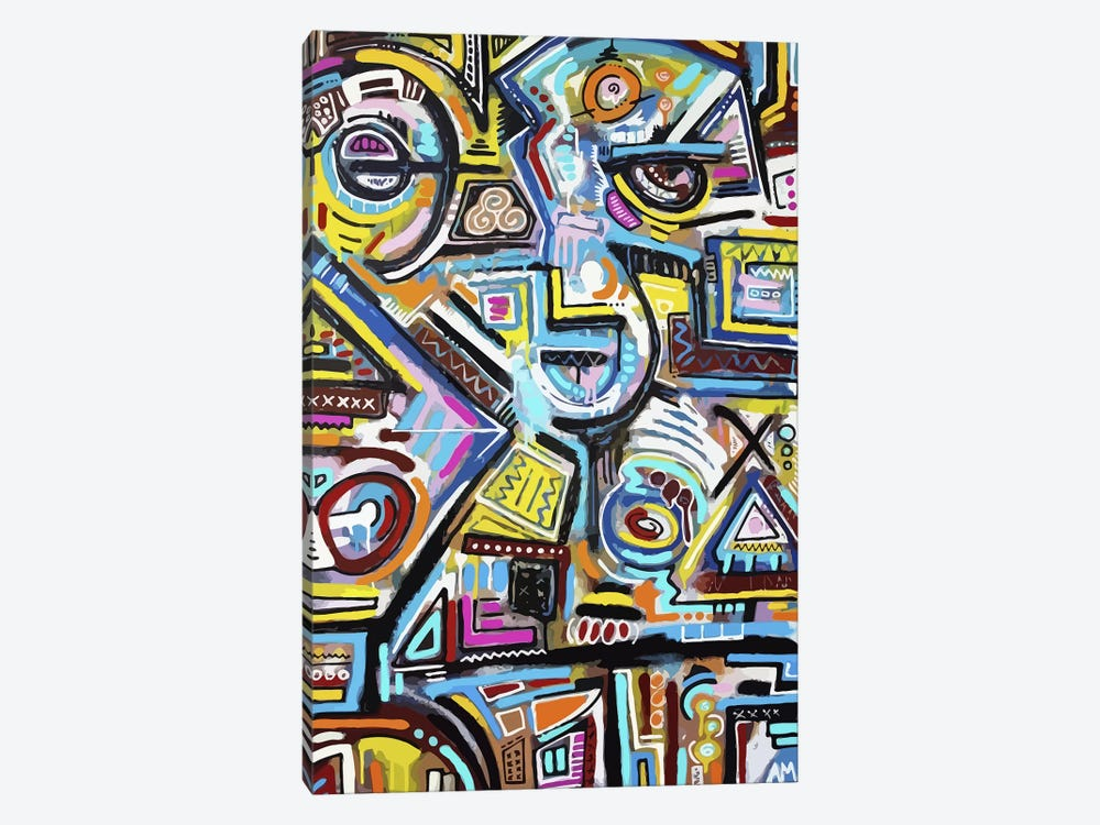 Eye of the Storm by Alloyius McIlwaine 1-piece Art Print