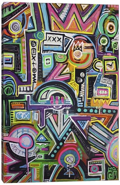 Humpty Dumpty Loves Canvas Art Print