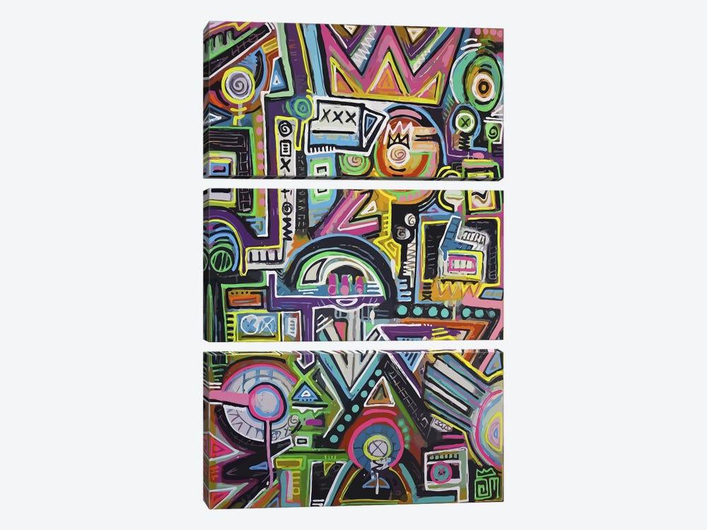 Humpty Dumpty Loves by Alloyius McIlwaine 3-piece Canvas Artwork