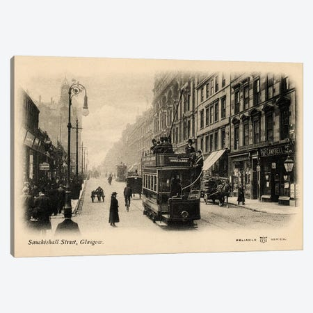 Glasgow Canvas Print #ALN1} by Alan Paul Canvas Art