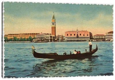 Gondola Canvas Art Print