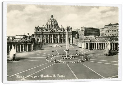 St. Peter's Basilica Canvas Art Print