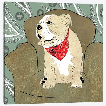 Herc Canvas Print #ALP100} by Allison Pearce Canvas Art Print