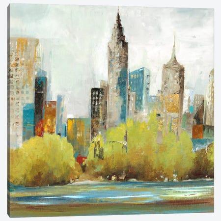 Hudson Ferry II Canvas Print #ALP102} by Allison Pearce Canvas Art Print