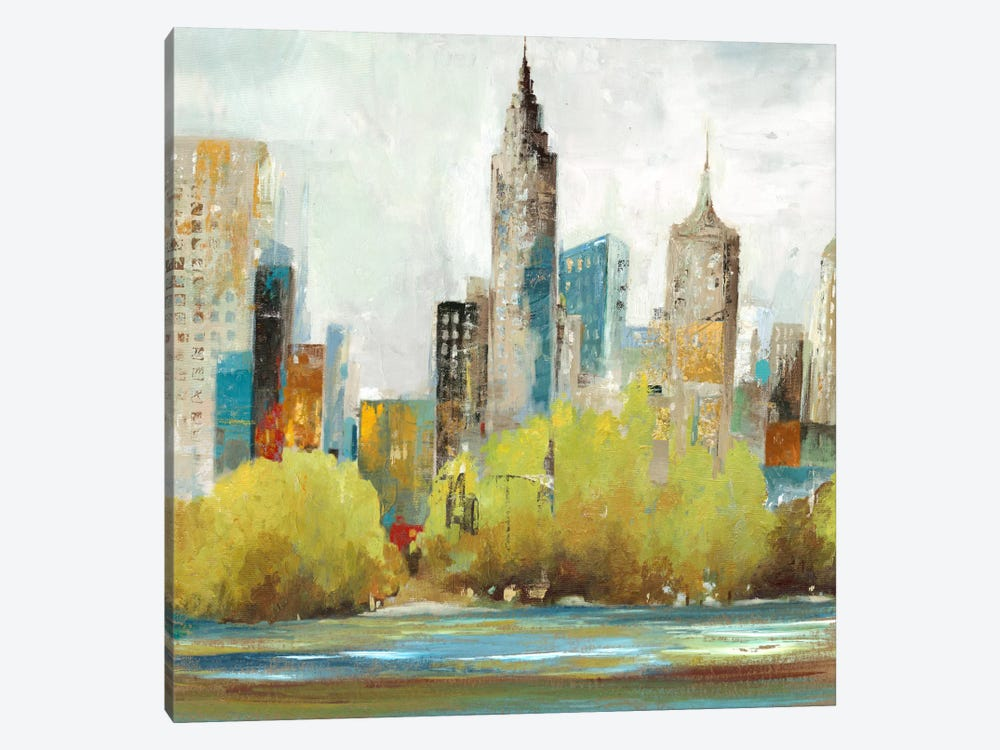 Hudson Ferry II by Allison Pearce 1-piece Canvas Art Print