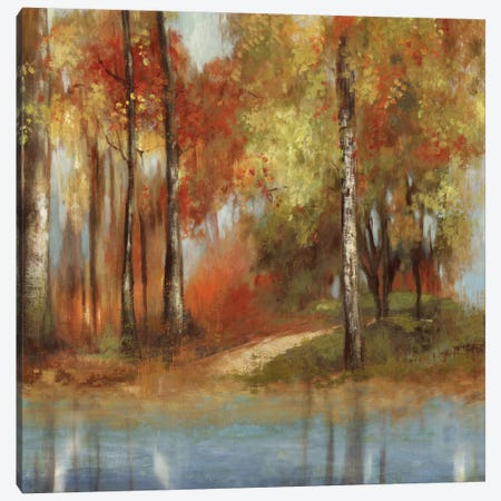 Indian Summer Canvas Print #ALP107} by Allison Pearce Canvas Art