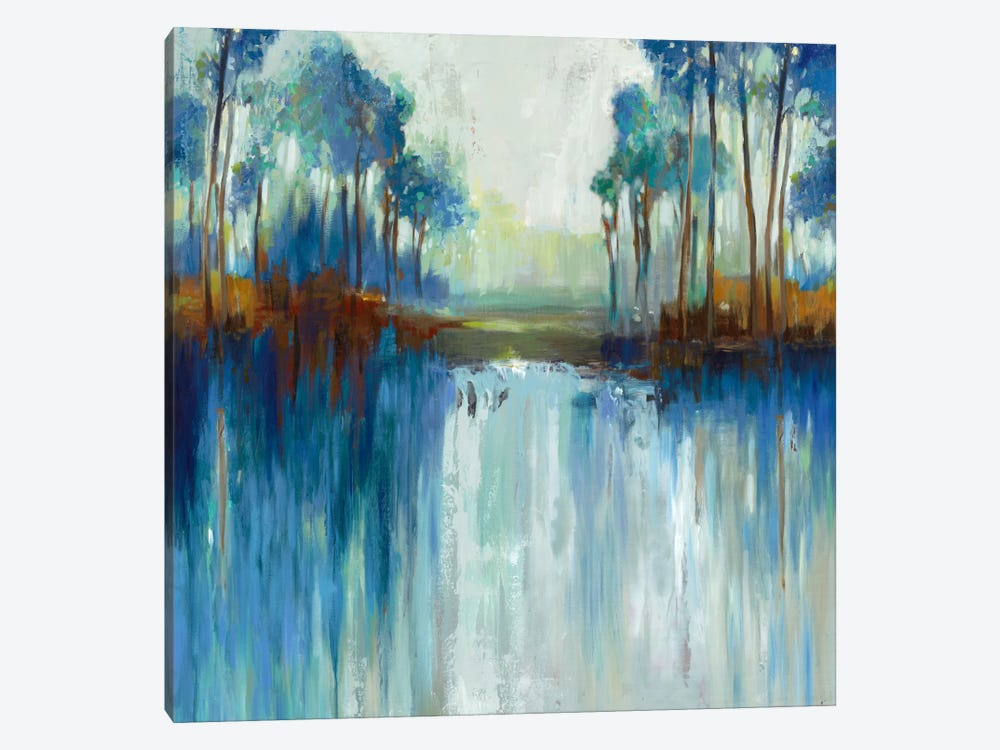 Late Summer Landscape by Allison Pearce 1-piece Canvas Art Print