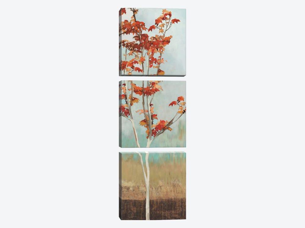 Maple Tree II by Allison Pearce 3-piece Canvas Wall Art