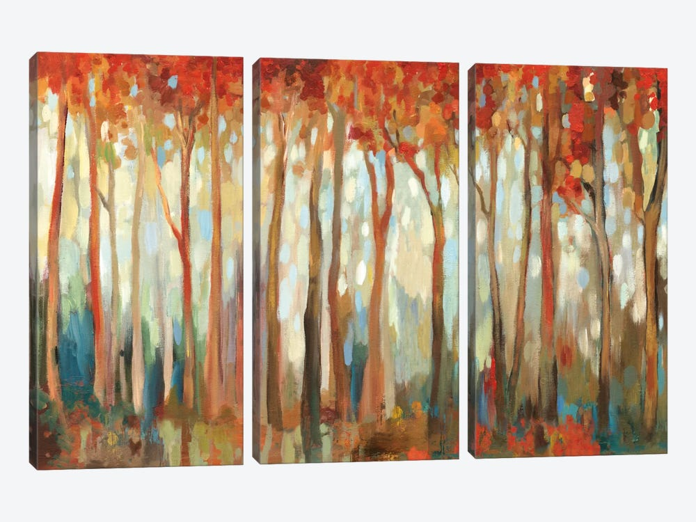 Marble Forest I by Allison Pearce 3-piece Canvas Wall Art