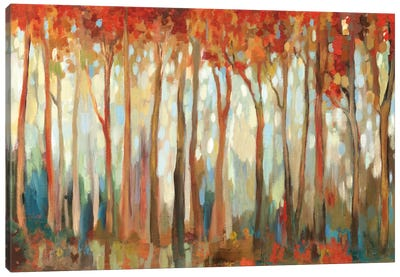 Marble Forest I Canvas Art Print