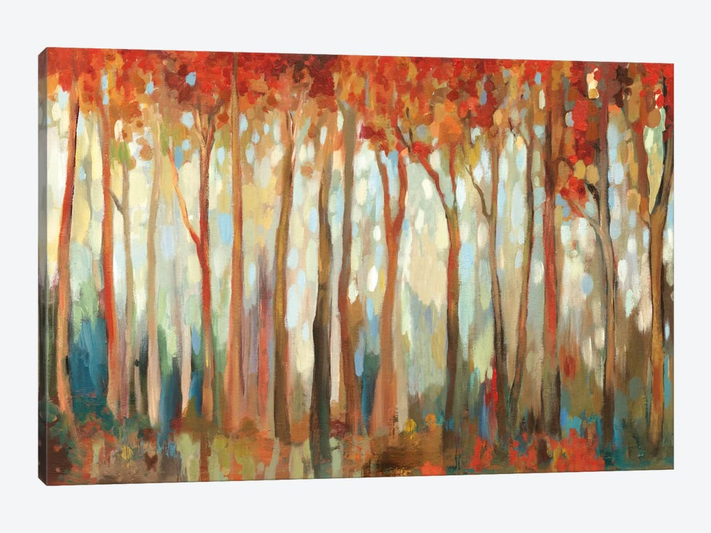 Marble Forest I by Allison Pearce 1-piece Canvas Artwork