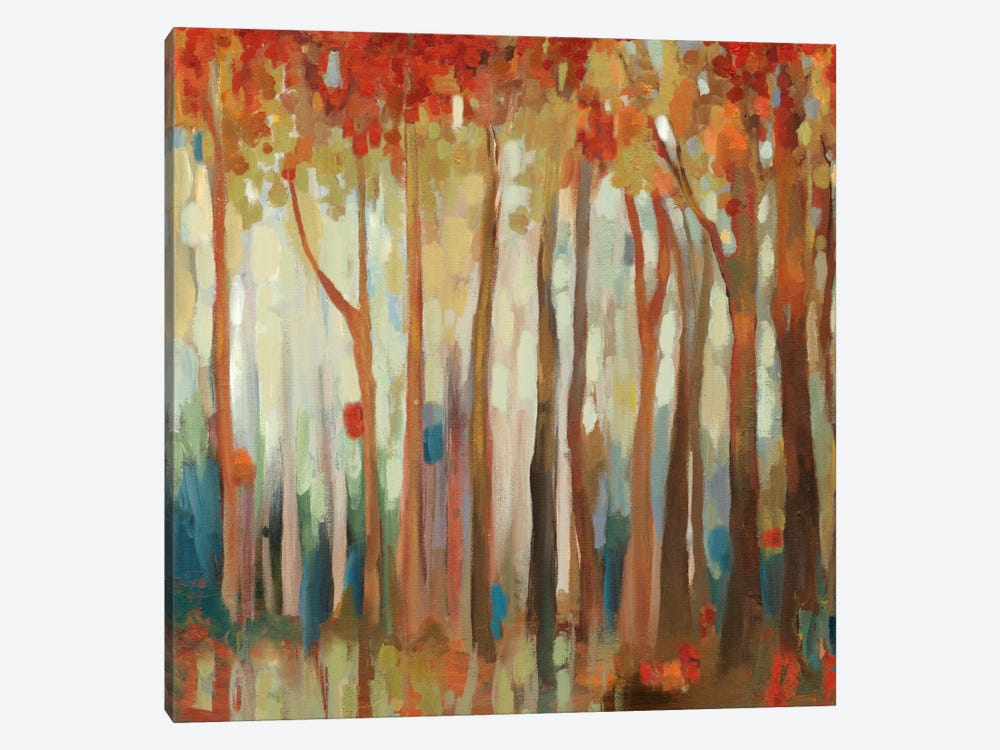 Marble Forest II by Allison Pearce 1-piece Canvas Art Print