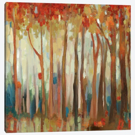 Marble Forest II Canvas Print #ALP124} by Allison Pearce Canvas Wall Art