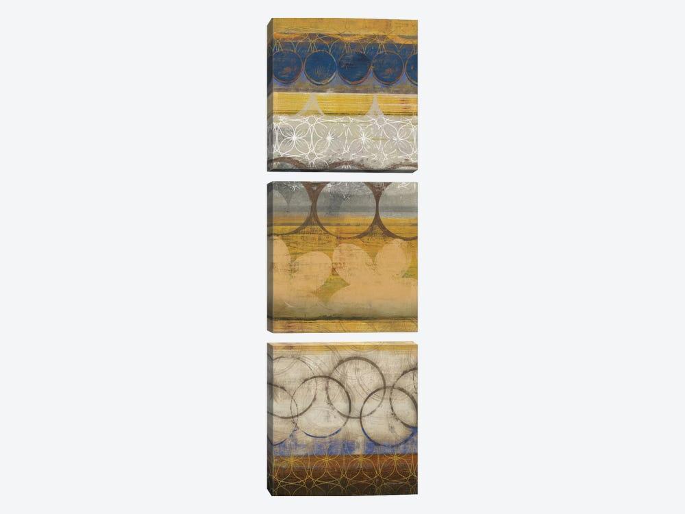 Mellow II by Allison Pearce 3-piece Canvas Art