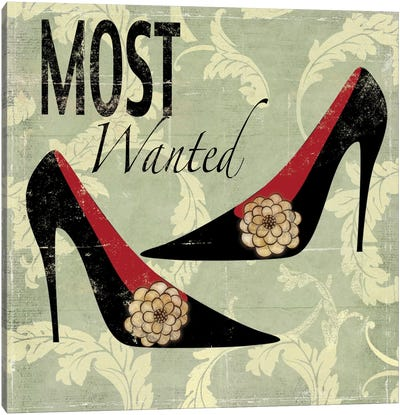 Most Wanted Canvas Art Print