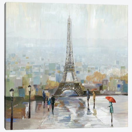 Paris 3-Piece Canvas #ALP141} by Allison Pearce Canvas Art Print