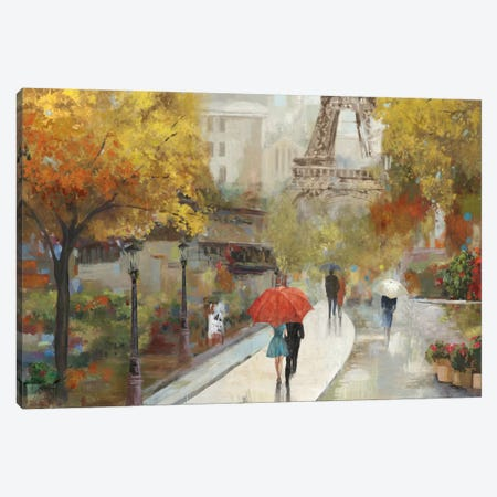 Parisian Avenue Canvas Print #ALP143} by Allison Pearce Canvas Art Print