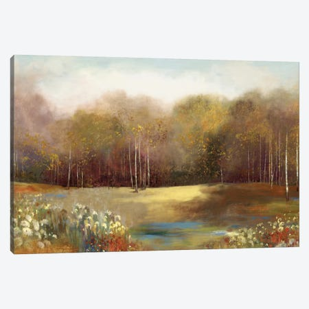 Park Garden Canvas Print #ALP144} by Allison Pearce Canvas Artwork