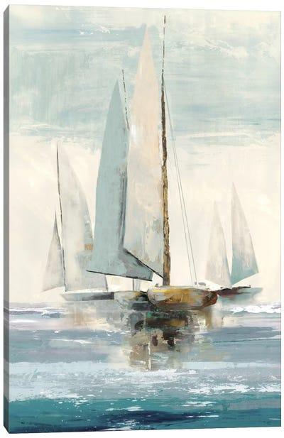 Quiet Boats I Canvas Art Print