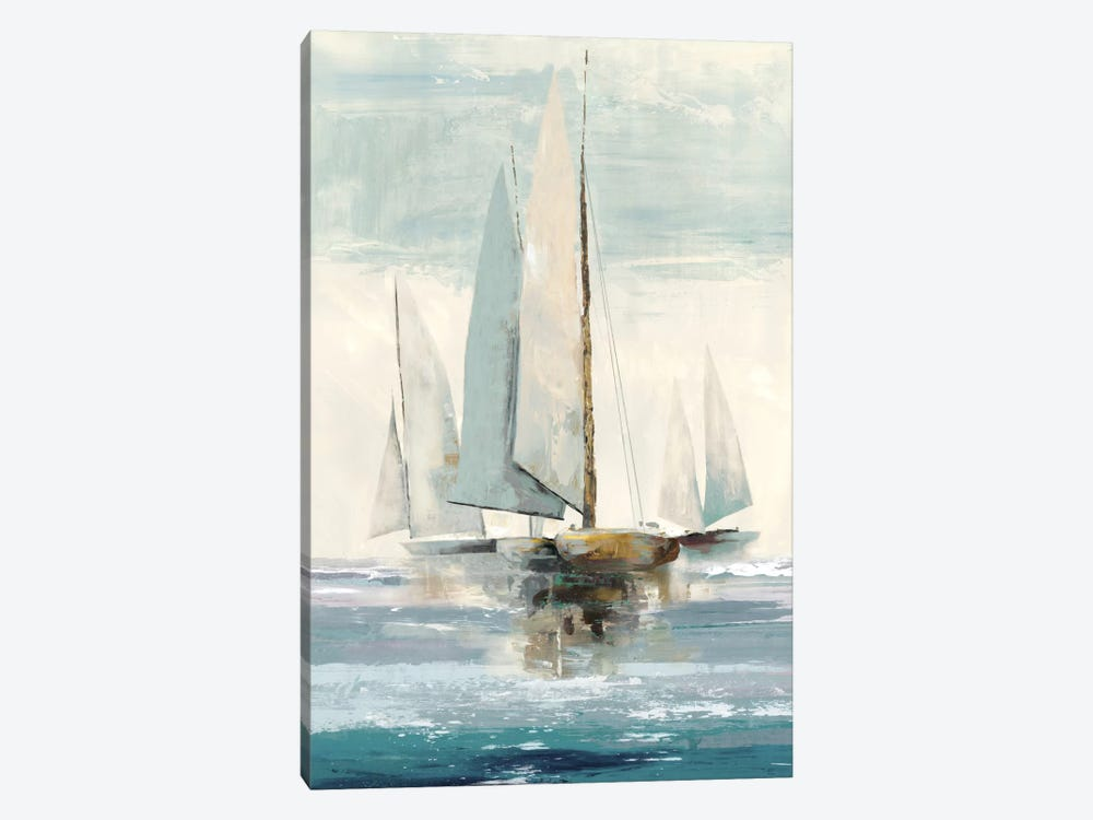Quiet Boats I by Allison Pearce 1-piece Canvas Wall Art