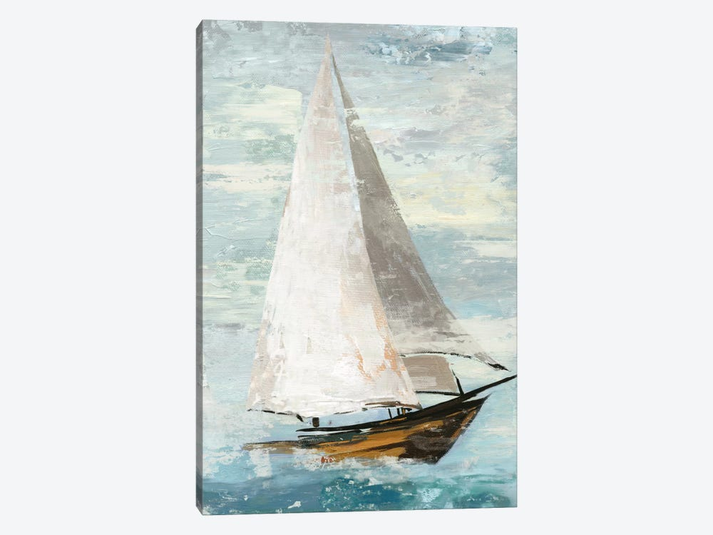 Quiet Boats II by Allison Pearce 1-piece Canvas Art Print