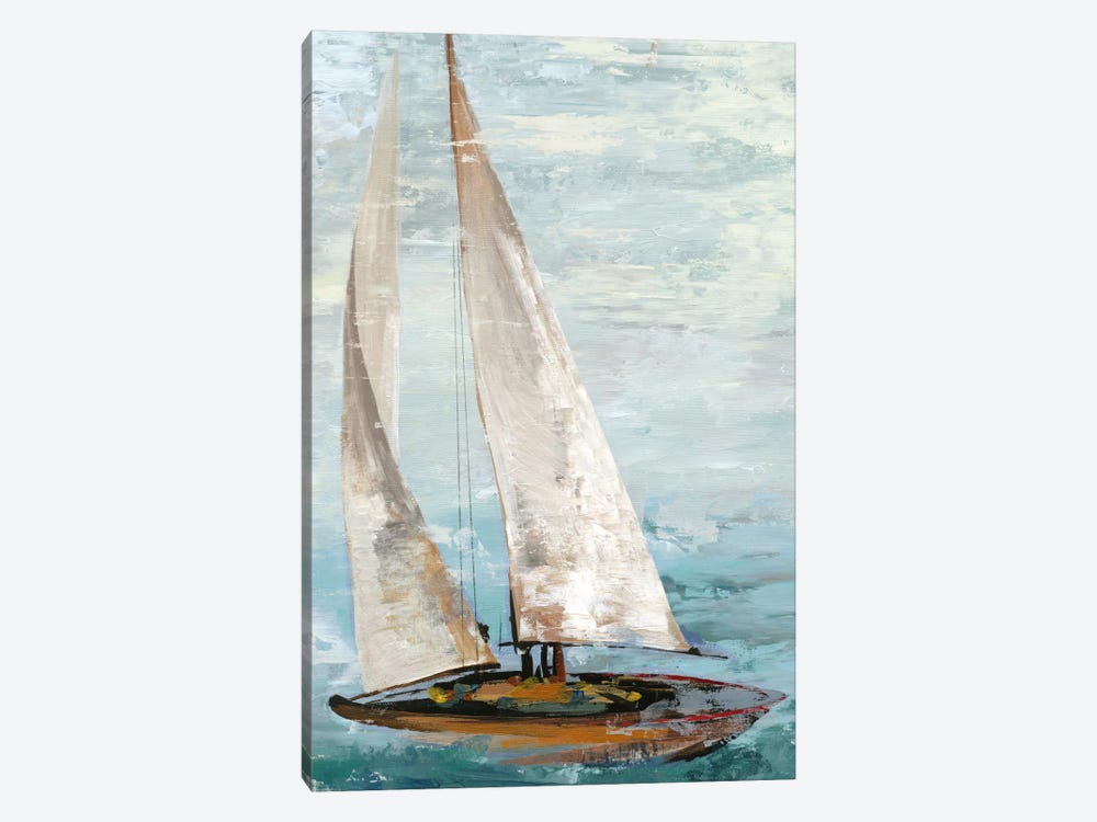 Quiet Boats III by Allison Pearce 1-piece Art Print