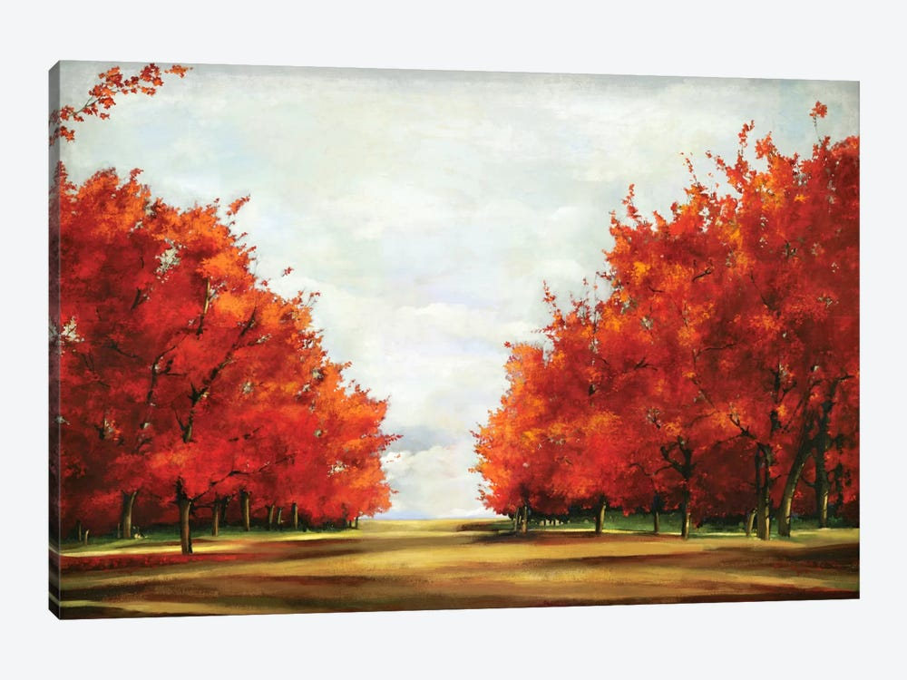 Red Glory by Allison Pearce 1-piece Canvas Wall Art