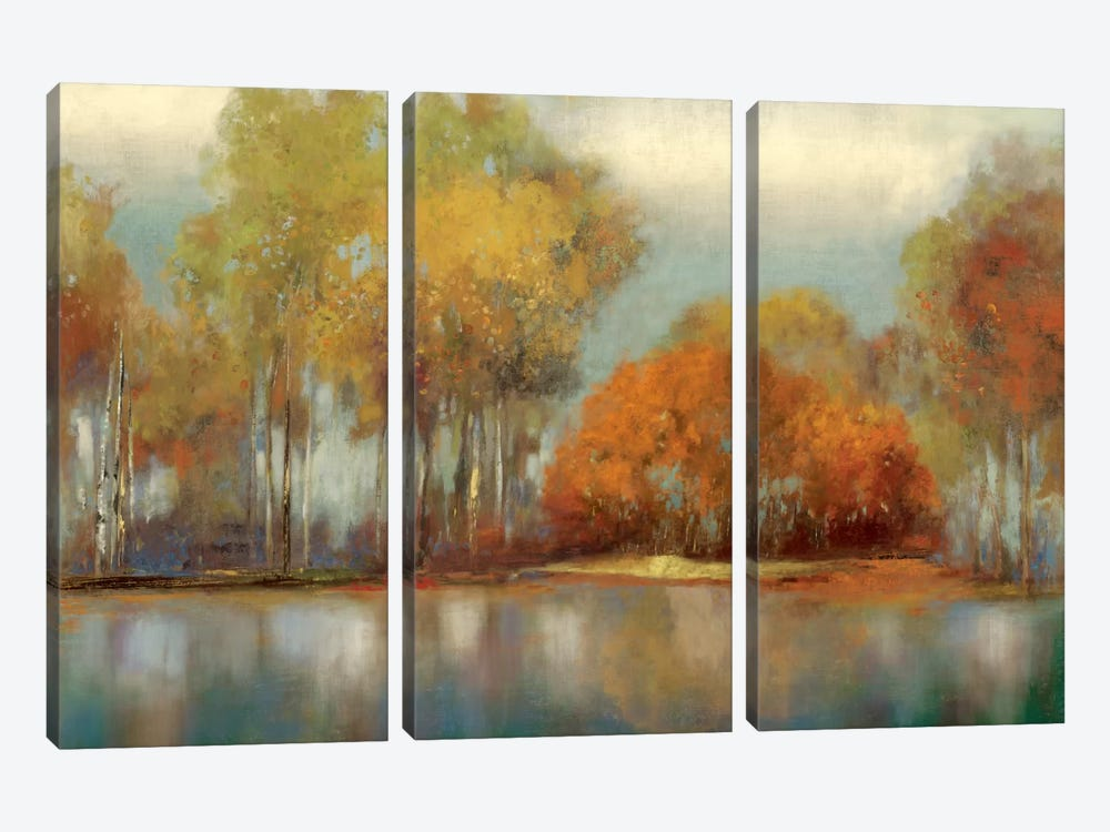 Reflections I by Allison Pearce 3-piece Art Print
