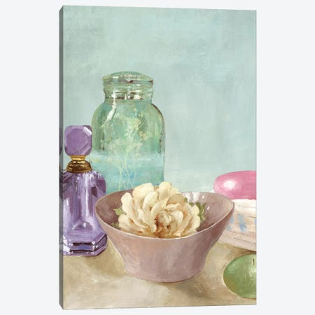 Refreshing Spa Canvas Print #ALP165} by Allison Pearce Canvas Art