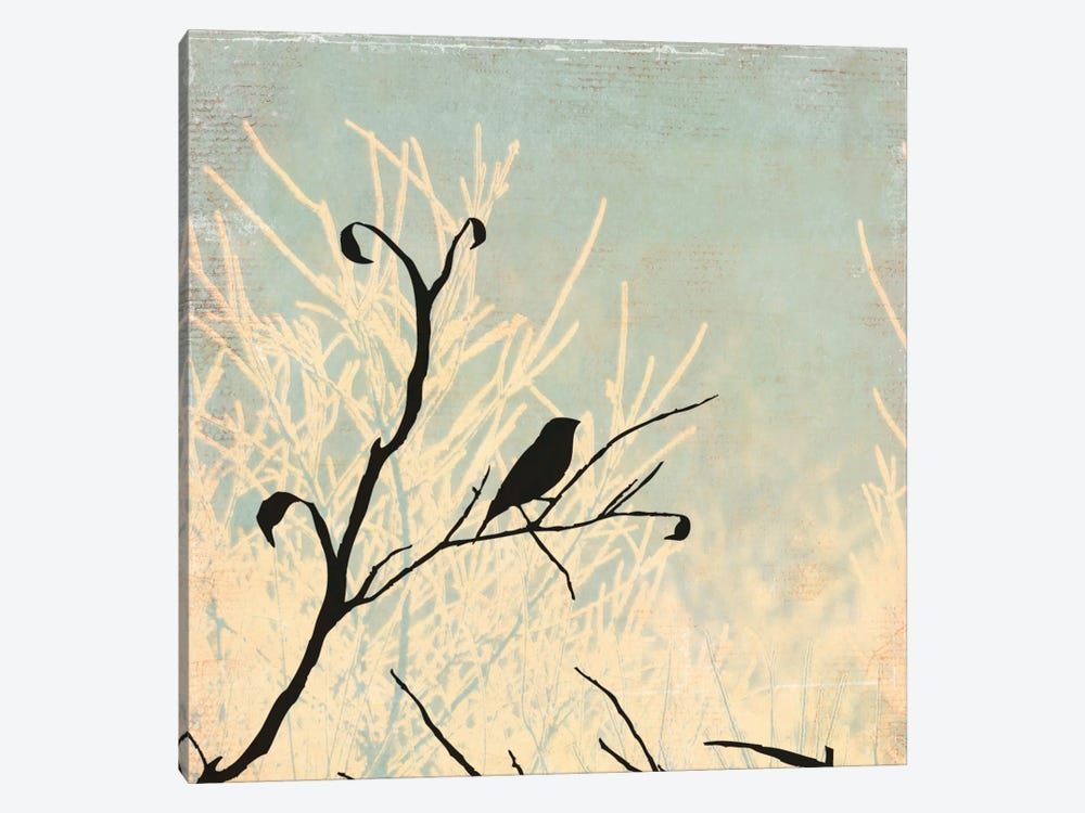 Sitting by Allison Pearce 1-piece Canvas Print