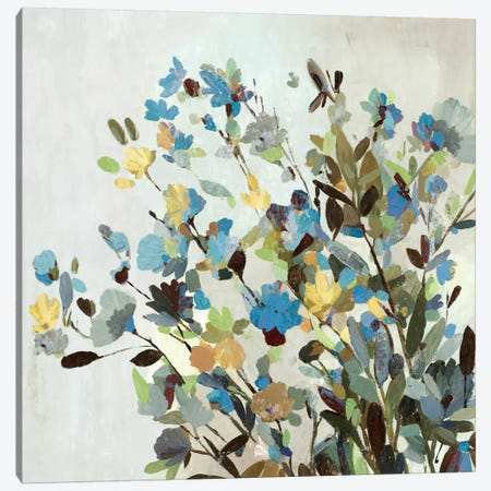 Spring Flowers Canvas Print #ALP184} by Allison Pearce Canvas Artwork