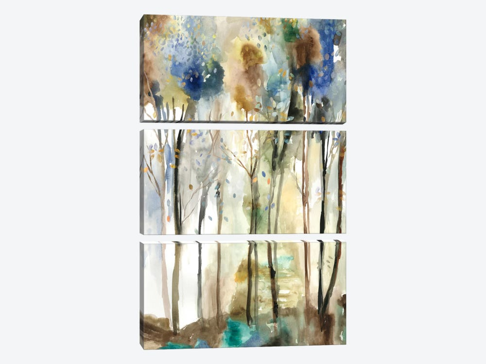 Standing Tall I by Allison Pearce 3-piece Canvas Wall Art