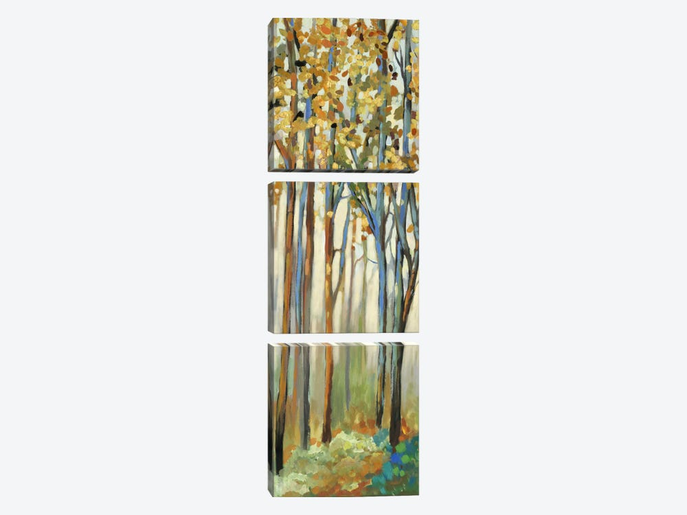Standing Tall II by Allison Pearce 3-piece Canvas Art Print