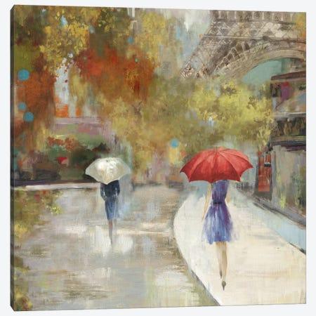 Sunlight Avenue I Canvas Print #ALP194} by Allison Pearce Art Print
