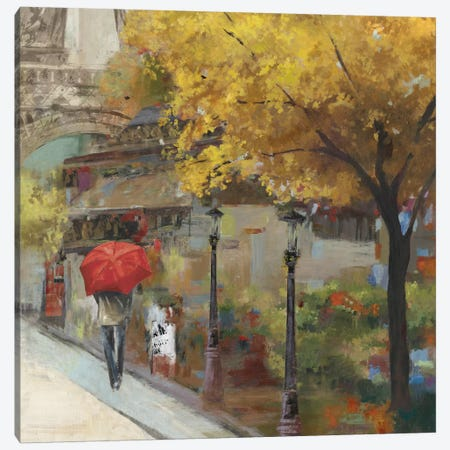 Sunlight Avenue II Canvas Print #ALP195} by Allison Pearce Canvas Art Print