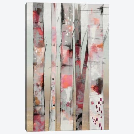 Sunset Birch I Canvas Print #ALP197} by Allison Pearce Art Print