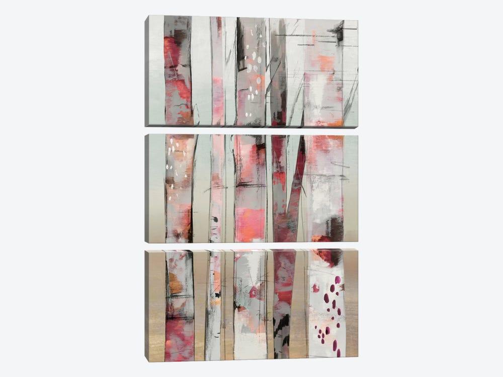 Sunset Birch I by Allison Pearce 3-piece Art Print
