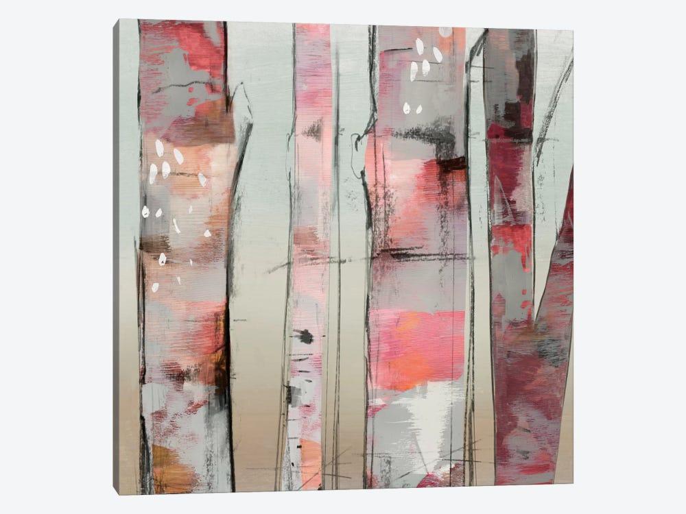 Sunset Birch II by Allison Pearce 1-piece Canvas Wall Art