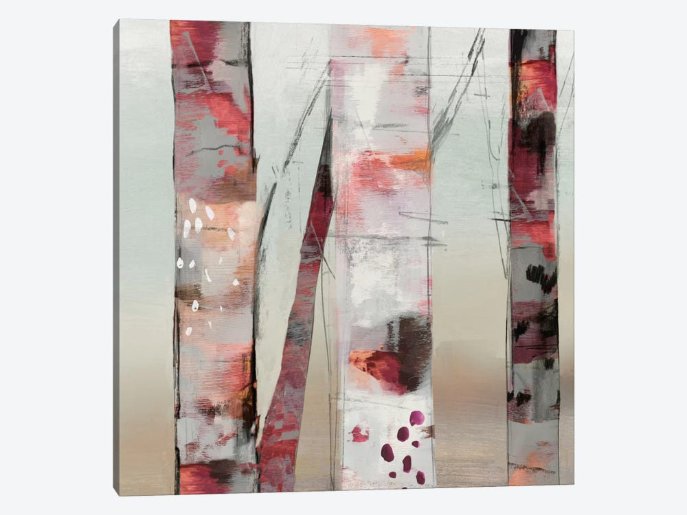 Sunset Birch III by Allison Pearce 1-piece Art Print