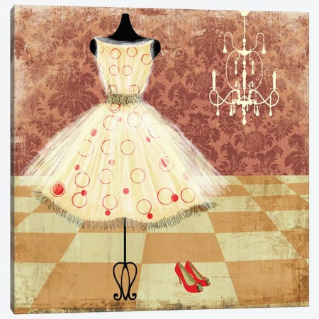 All Dressed Canvas Print #ALP1} by Allison Pearce Art Print