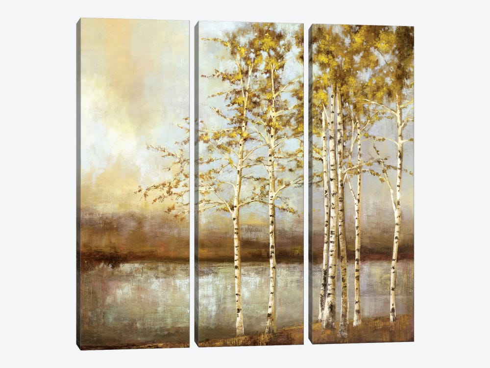 Swaying Together by Allison Pearce 3-piece Canvas Print
