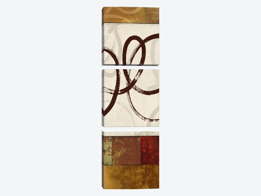 Symphony I by Allison Pearce 3-piece Canvas Art Print