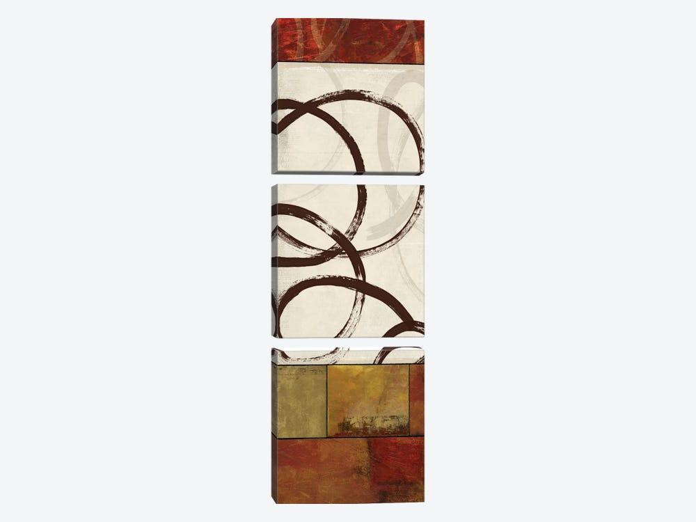 Symphony II by Allison Pearce 3-piece Canvas Art