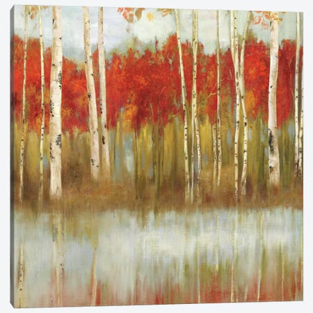 The Edge, Square Canvas Print #ALP214} by Allison Pearce Canvas Art