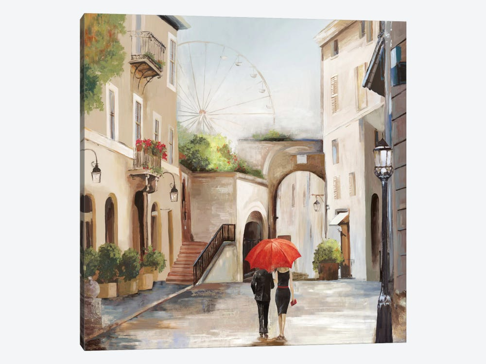 The Stroll by Allison Pearce 1-piece Canvas Art Print