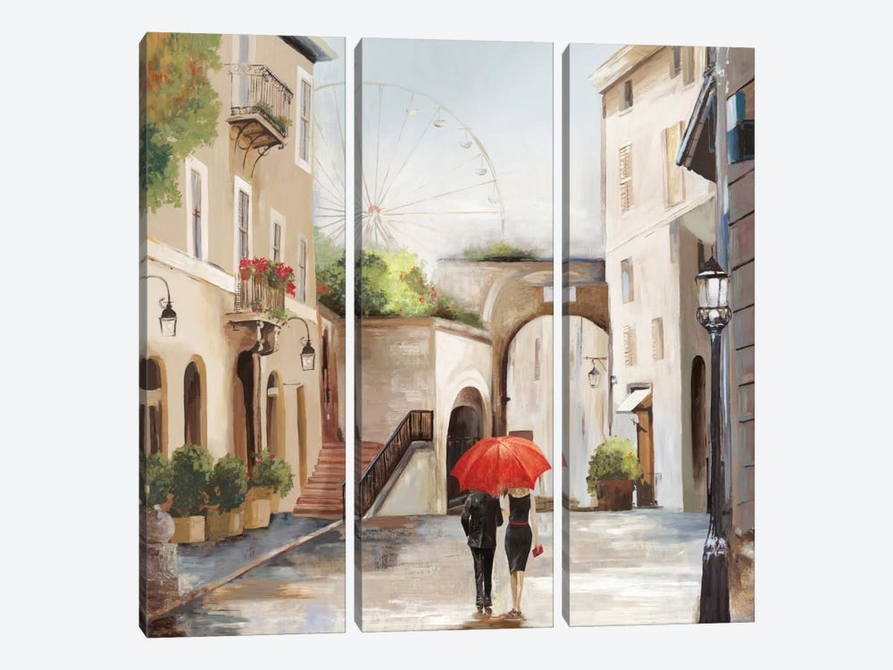 The Stroll 3-piece Art Print