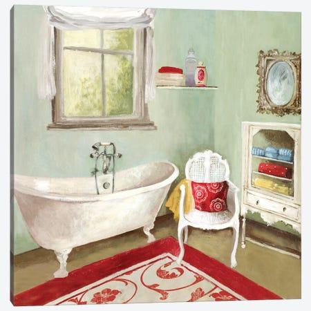 Tranquil Bath I Canvas Print #ALP218} by Allison Pearce Canvas Art Print